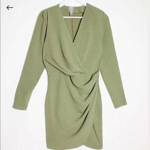Front Pleat Mini Dress by ASOS